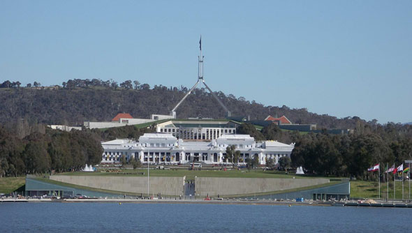 1988 – Australian Parliament Building, Canberra
