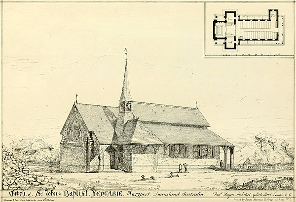 1873 – Church of St. John the Baptist, Yengarie, Queensland
