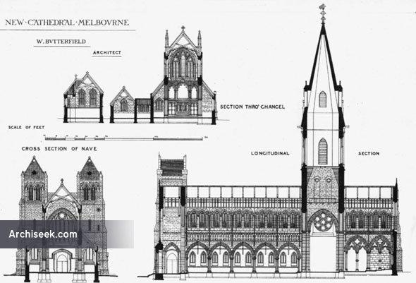 1880 – St. Paul's Cathedral, Melbourne, Victoria, Australia