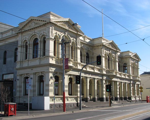 1887 &#8211; Northcote Town Hall, Victoria