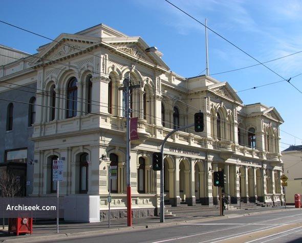 1887 – Northcote Town Hall, Victoria