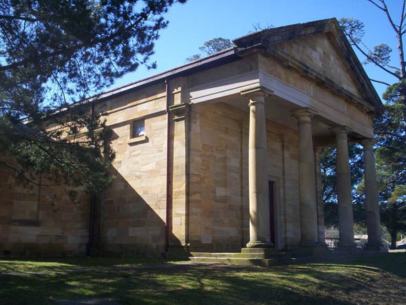 1835 &#8211; Courthouse, Berrima, New South Wales