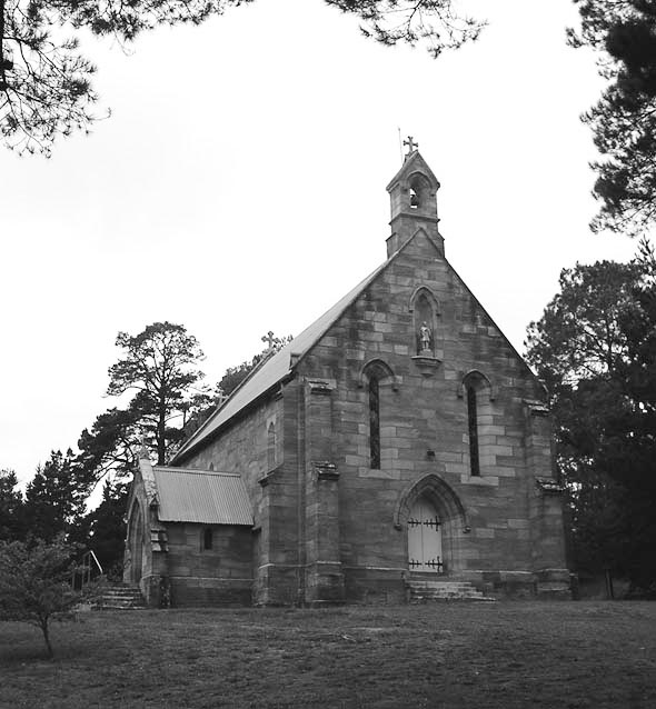 1851 &#8211; St. Francis Xavier Church, Berrima, New South Wales