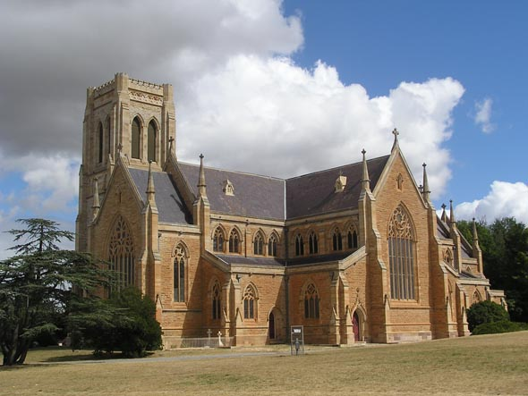 1884 &#8211; St. Saviour&#8217;s Cathedral, Goulburn, New South Wales