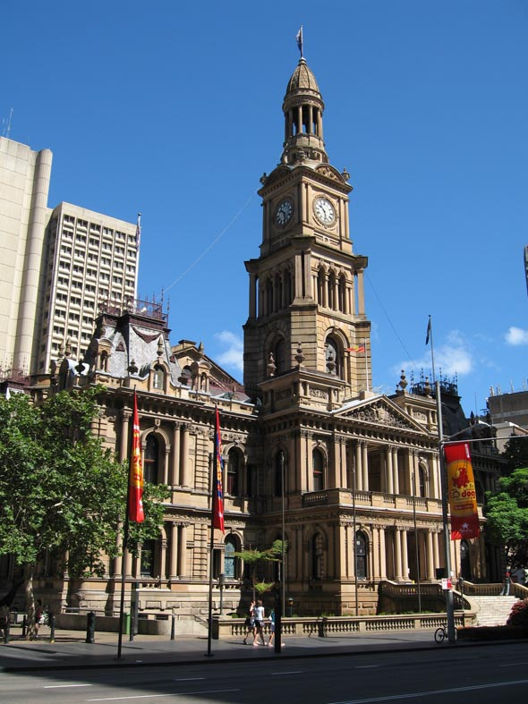 1889 – Sydney Town Hall, New South Wales