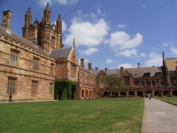1862 &#8211; University of Sydney, Main Quadrangle