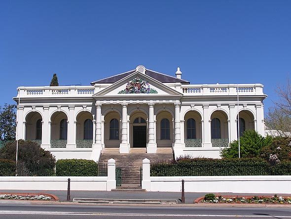 1880 &#8211; Yass Courthouse, New South Wales