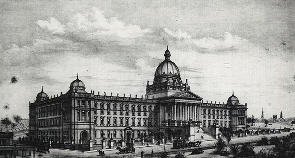 1874 – Design for Museum & Library, Sydney, Australia
