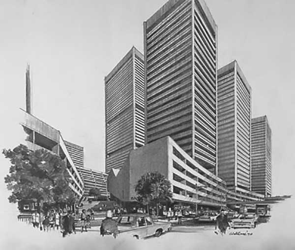 1970s – Proposed Redevelopment of The Rocks, Sydney