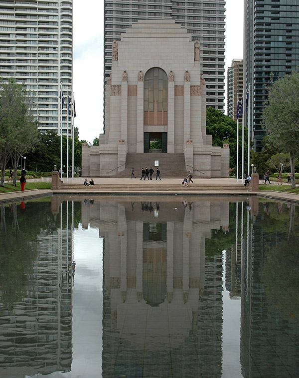 1934 – ANZAC War Memorial, Sydney, Australia