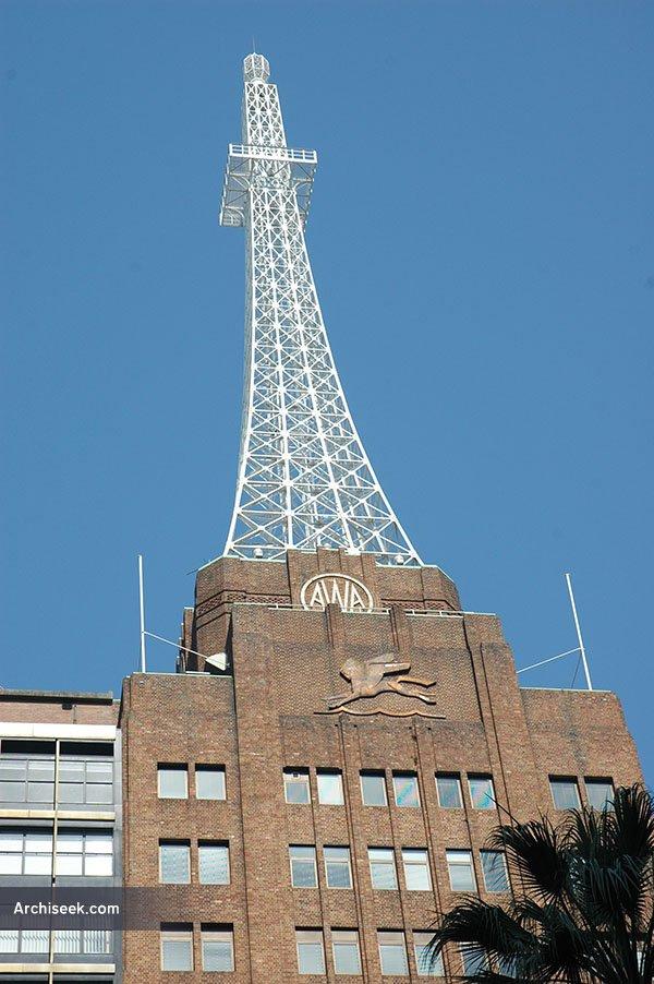 1939 – AWA Tower, York St., Sydney, Australia