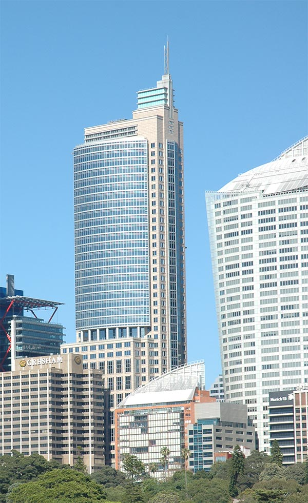 1992 – Chifley Tower,  Sydney, Australia