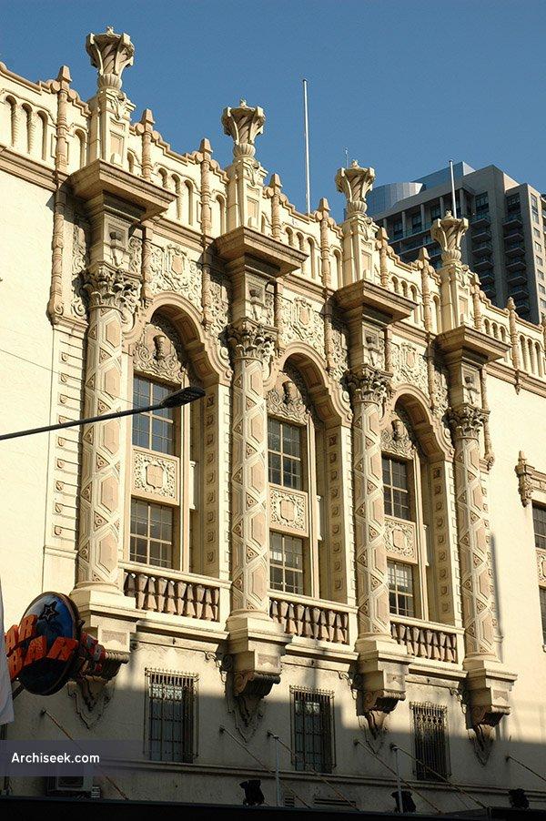 1930 – Plaza Theatre, George St., Sydney, Australia