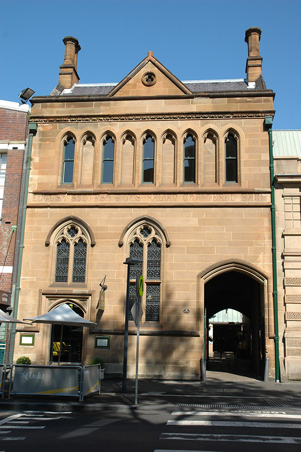 1886 – English, Scottish & Australian Bank, The Rocks, Sydney, Australia