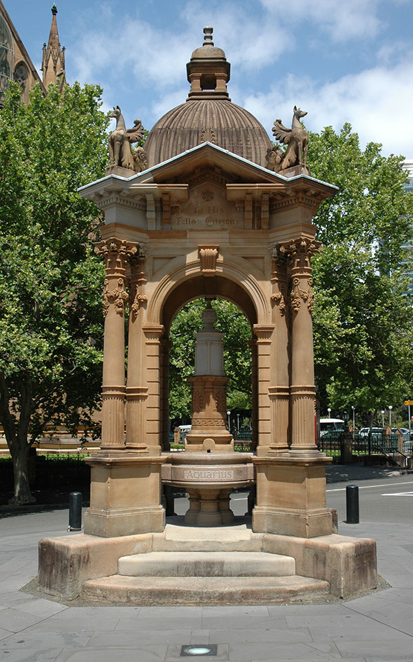 1884 – Frazer Memorial Fountain, Sydney, Australia