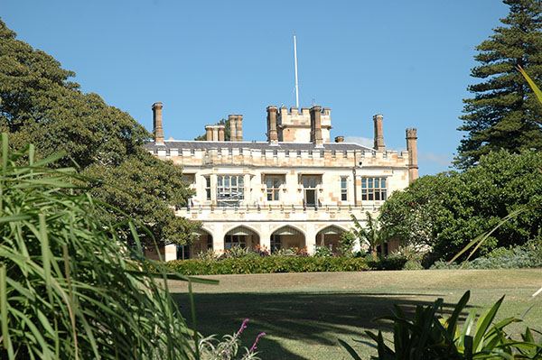 1845 – Government House, Sydney, Australia