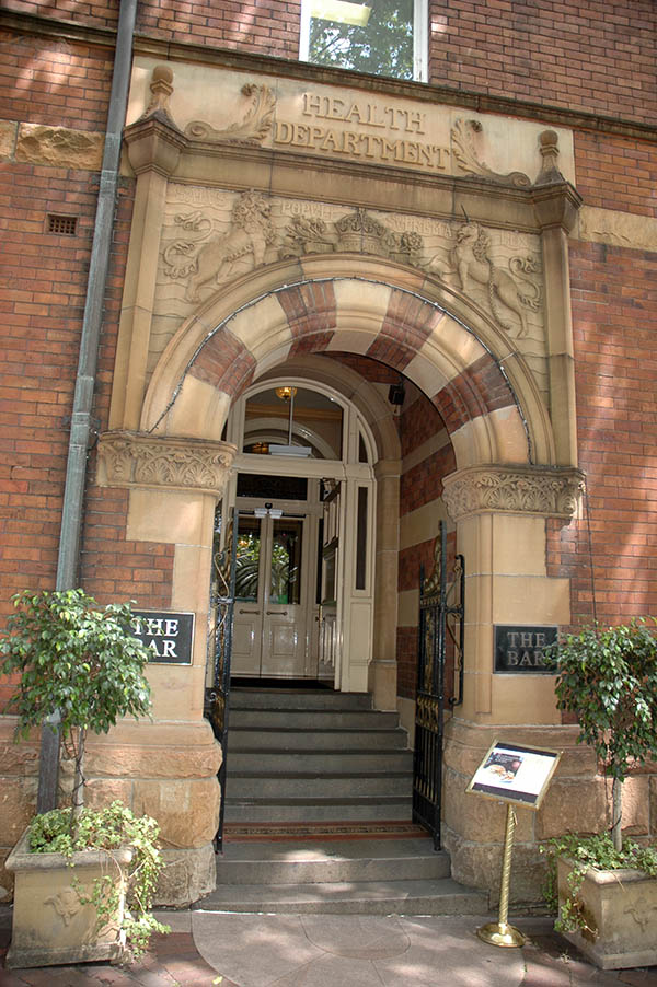 1898 – Former Health Department, Macquarie St., Sydney, Australia