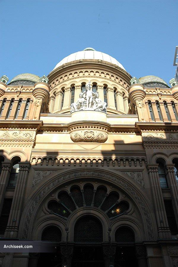 1898 – Queen Victoria Building, Sydney, Australia