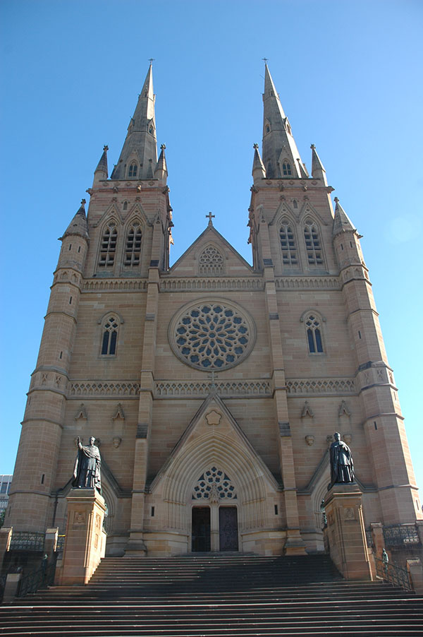 1882 – St. Mary's Cathedral, Sydney, Australia