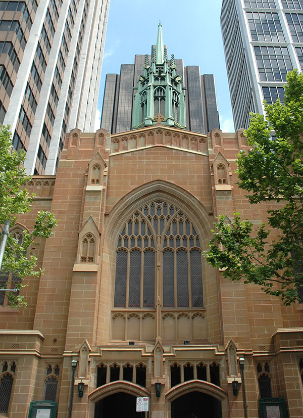 1935 – St Stephen's Church, Macquarie St., Sydney, Australia