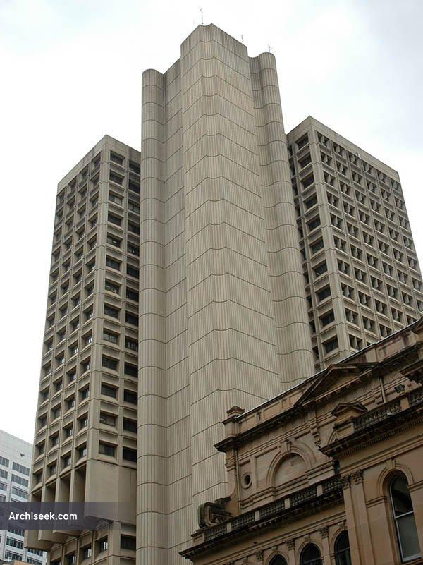 1977 – Town Hall House, Kent St., Sydney, Australia