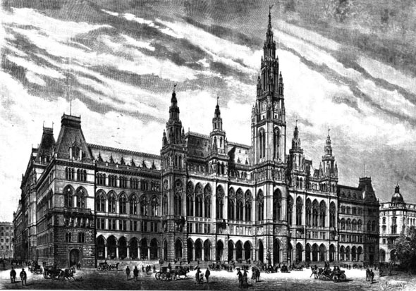 1883 &#8211; Rathaus, Vienna, Austria