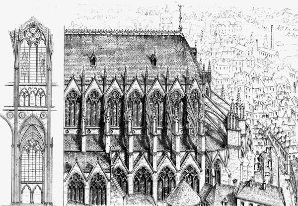 1255 – Choir of Notre Dame de Tournai Cathedral, Belgium