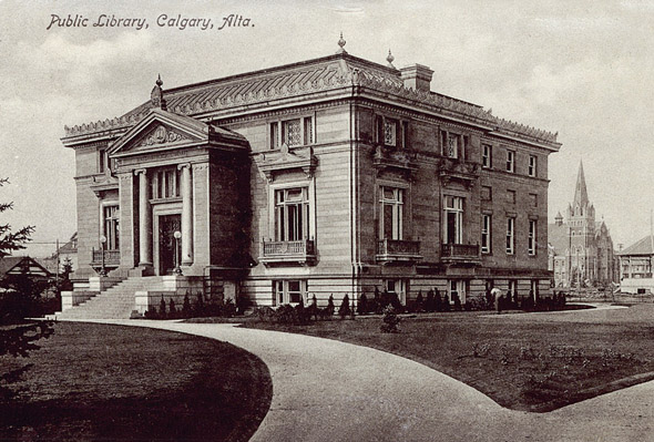 1912 &#8211; Memorial Park Library, Calgary, Alberta