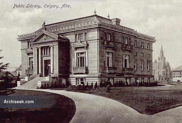 1912 – Memorial Park Library, Calgary, Alberta