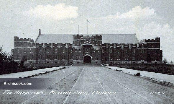 1918 – Mewata Armory, Calgary, Alberta