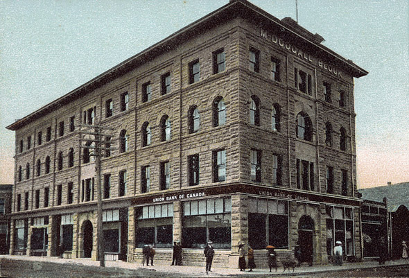 1906 &#8211; McDougall Block, Calgary, Alberta