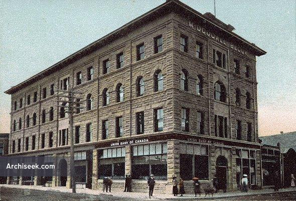 1906 – McDougall Block, Calgary, Alberta