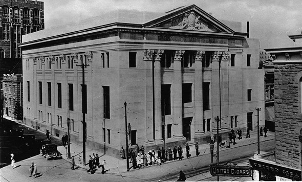 1923 – Bank of Montreal Building, Calgary, Alberta