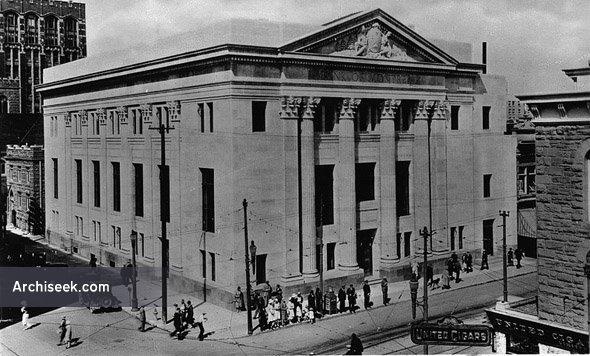1923 – Bank of Montreal Building, Calgary, Alberta