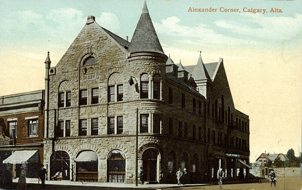 1890 &#8211; Alexander Corner, Calgary, Alberta