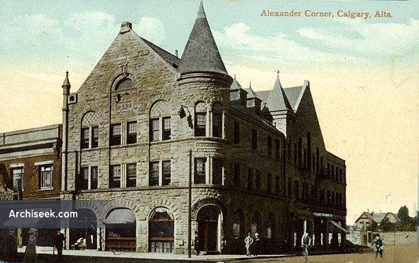 1890 – Alexander Corner, Calgary, Alberta