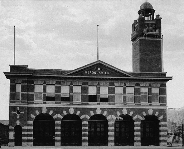 1911 &#8211; Fire Hall No.1, Calgary, Alberta