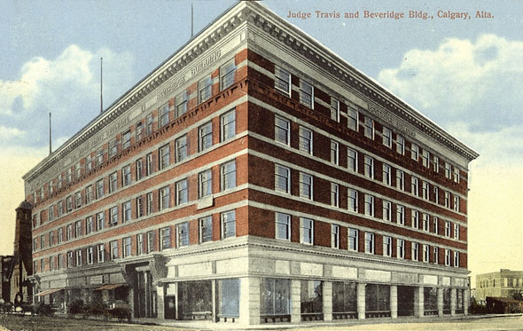 1912 &#8211; Beveridge-Travis Block, Calgary, Alberta