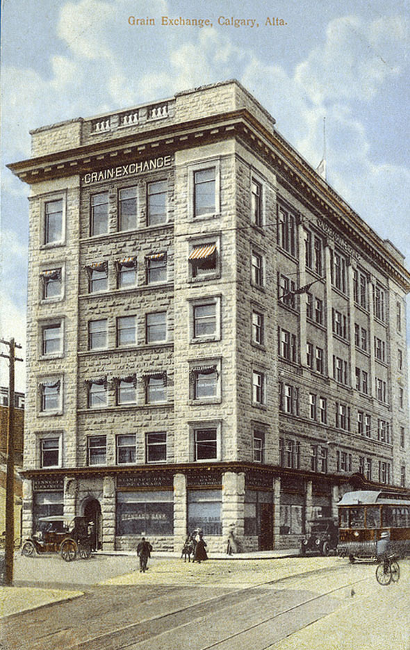 1910 – Grain Exchange, Calgary, Alberta