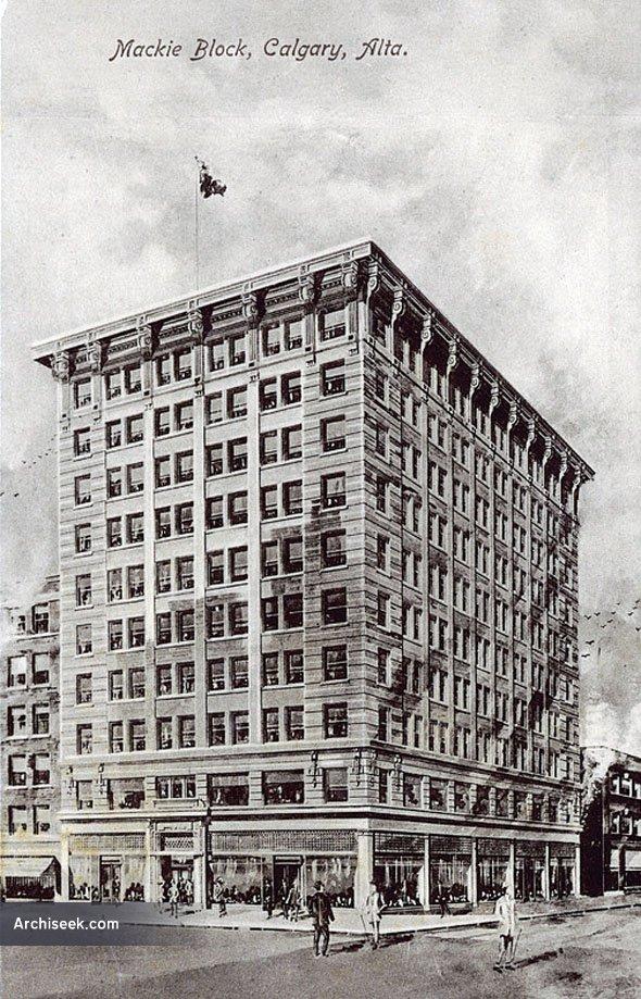 1918 – Lancaster Building, Calgary, Alberta