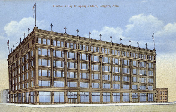 1913 &#8211; Hudsons Bay Company, Calgary, Alberta