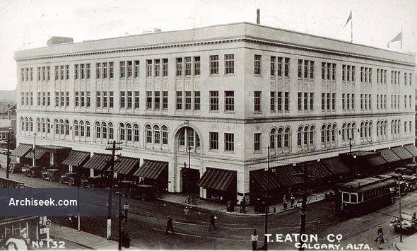 1929 – T. Eaton Co., Calgary, Alberta