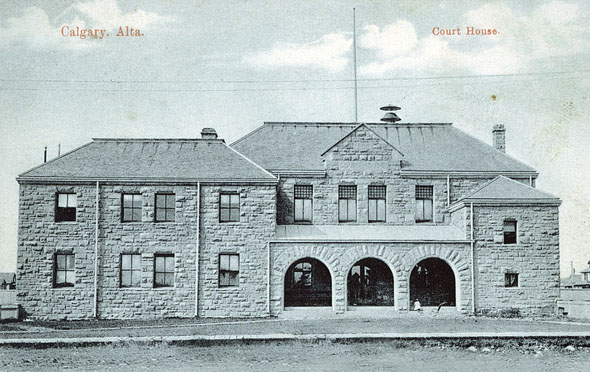 1888 &#8211; Law Courts, Calgary, Alberta