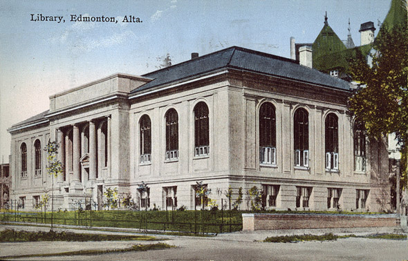 1923 &#8211; Public Library, Edmonton, Alberta
