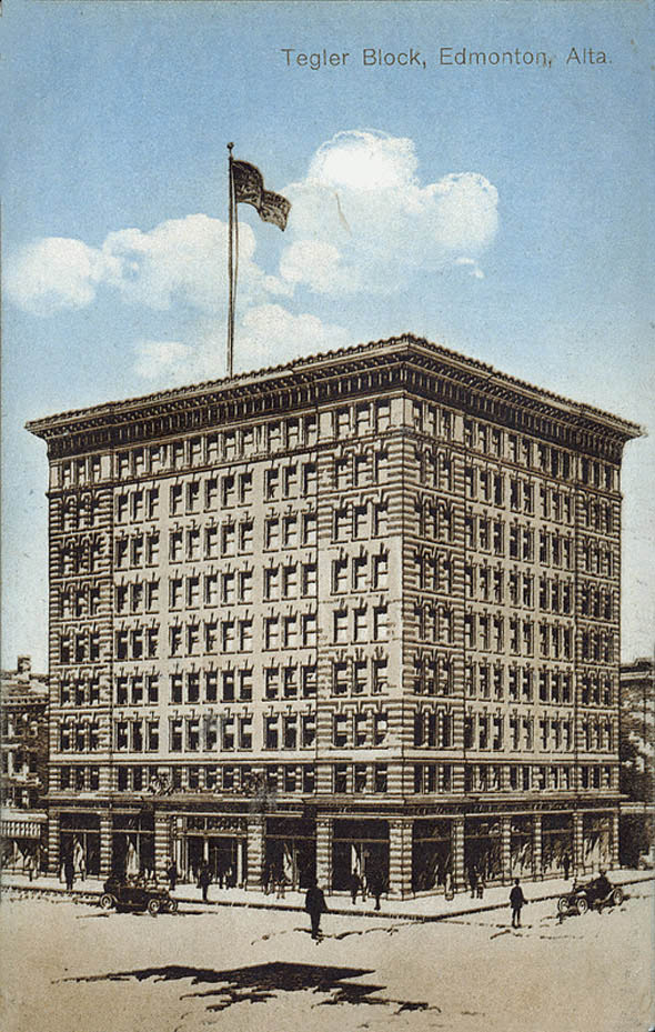 1911 – Tegler Block, Edmonton, Alberta
