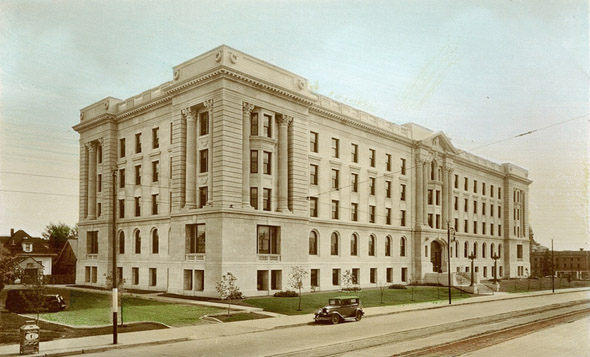 Administration Building, Edmonton, Alberta
