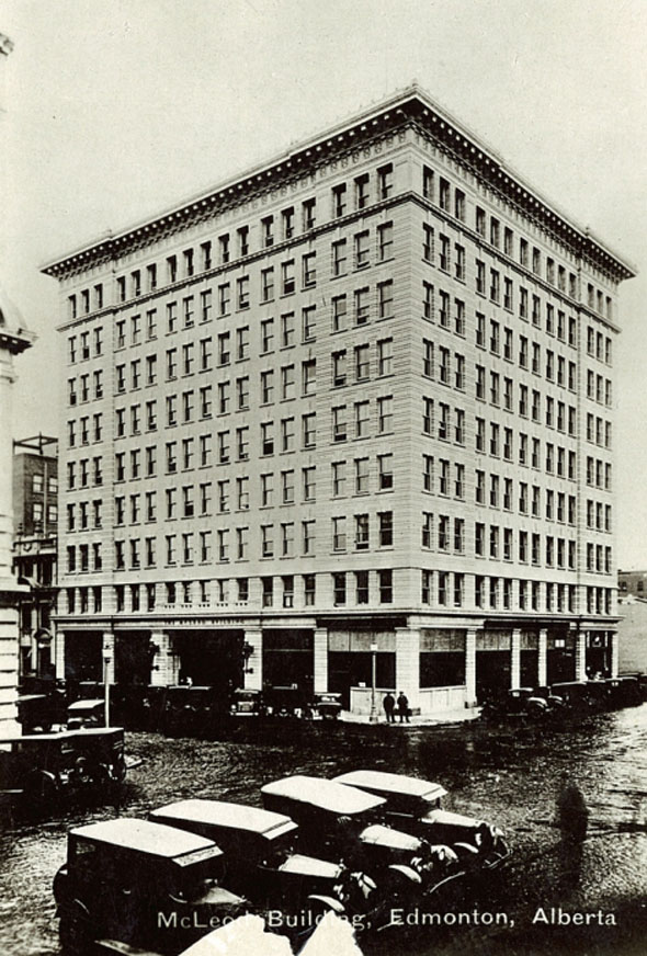 1915 – McLeod Building, Edmonton, Alberta