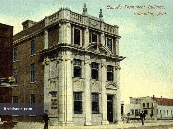 1910 – Canada Permanent Building, Edmonton, Alberta