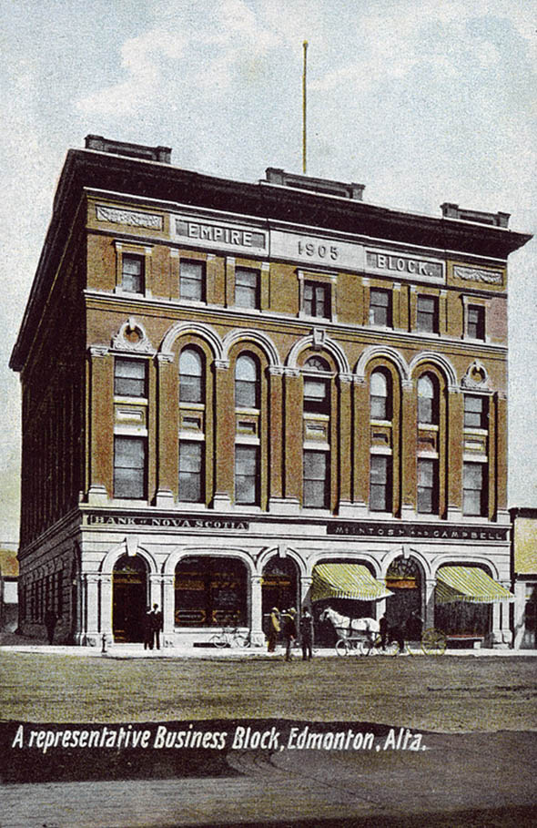 1905 – Empire Block, Edmonton, Alberta