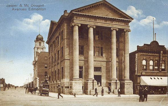 1907 – Imperial Bank of Canada, Edmonton, Alberta